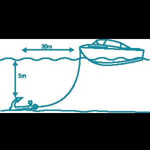 diagram laying an anchor